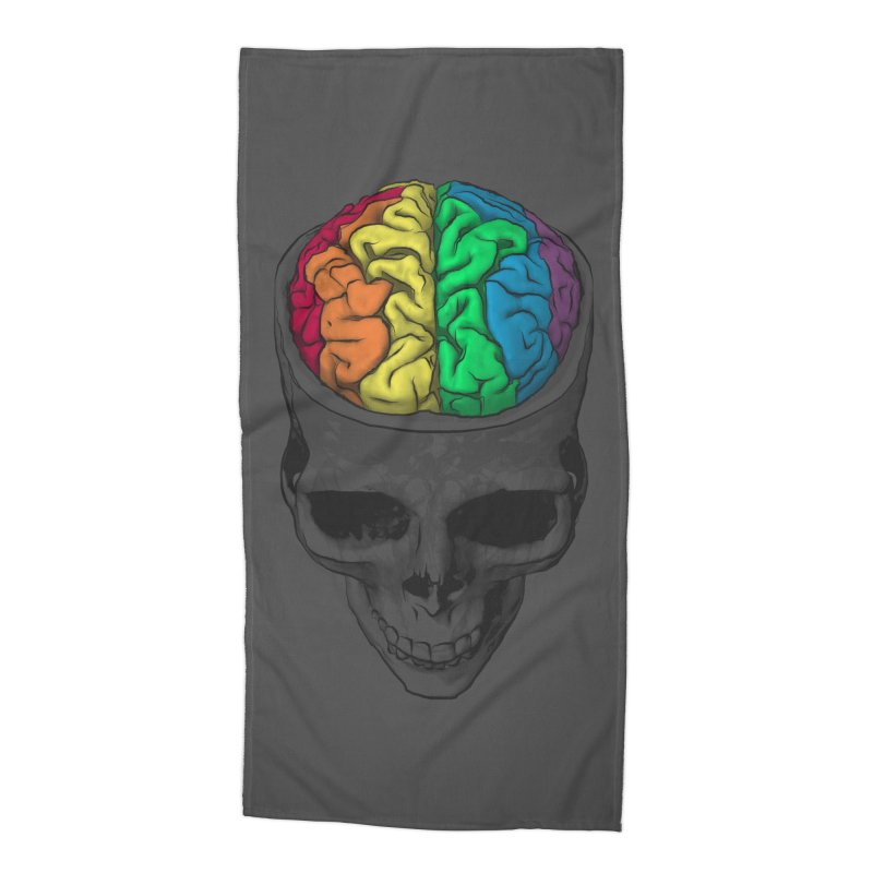 Open Minded Accessories Beach Towel by benk's shop