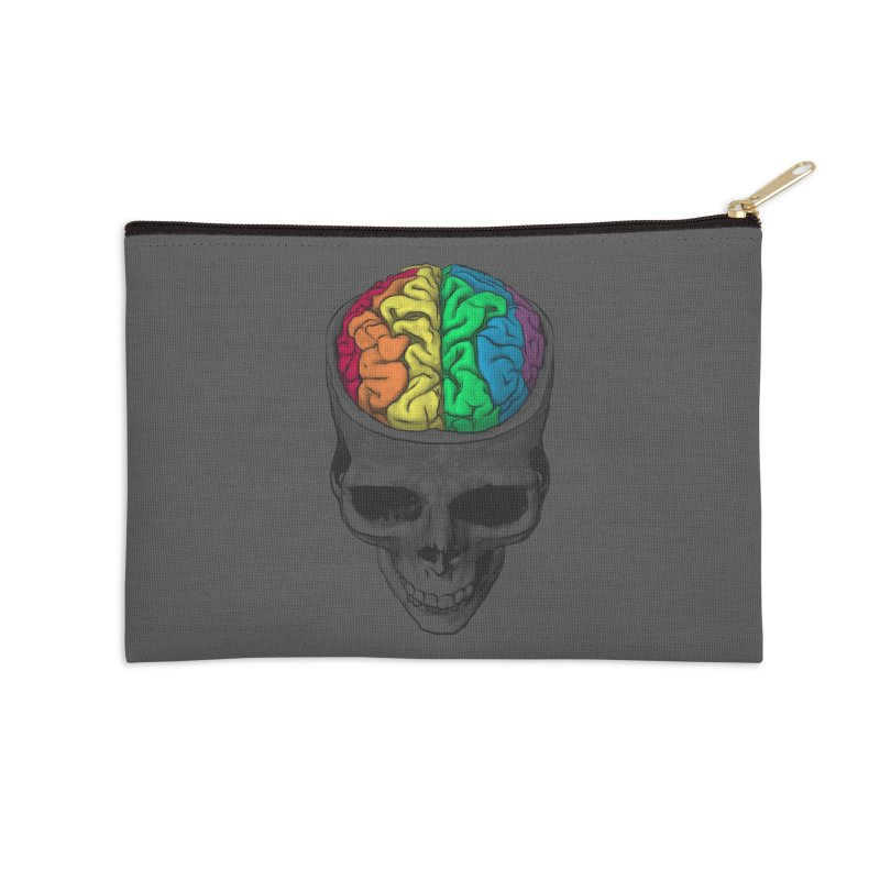 Open Minded Accessories Zip Pouch by benk's shop