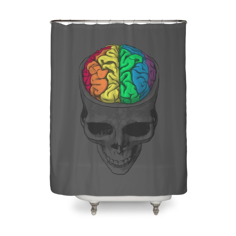 Open Minded Home Shower Curtain by benk's shop