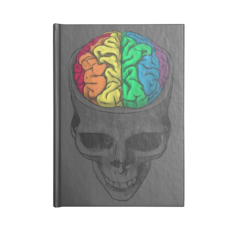Open Minded Accessories Notebook by benk's shop