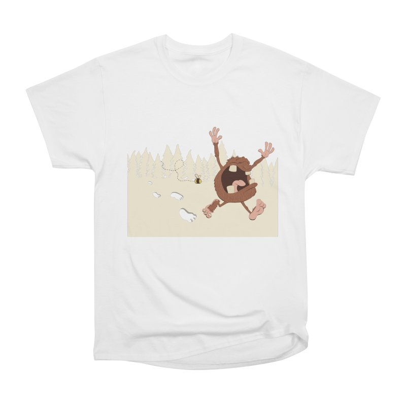 OMG a bee! Men's Classic T-Shirt by Sketchbookery!