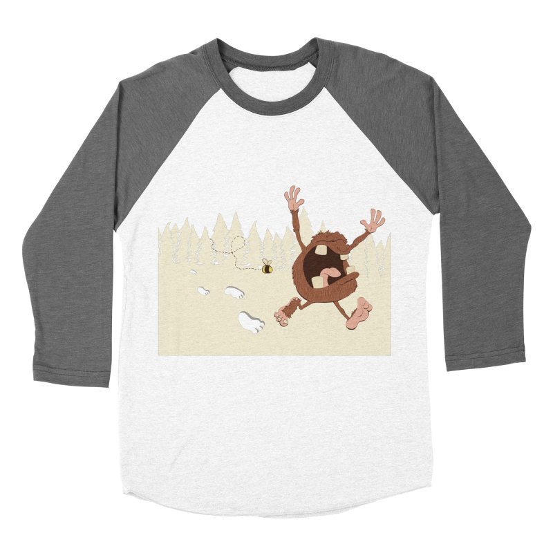 OMG a bee! Men's Baseball Triblend T-Shirt by Sketchbookery!