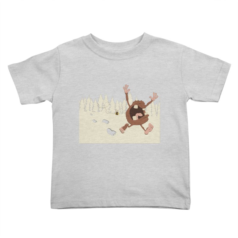 OMG a bee! Kids Toddler T-Shirt by Sketchbookery!