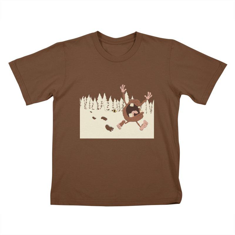 OMG a bee! Kids T-Shirt by Sketchbookery!