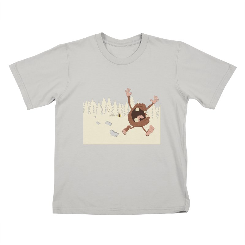 OMG a bee! Kids T-shirt by Sketchbookery!