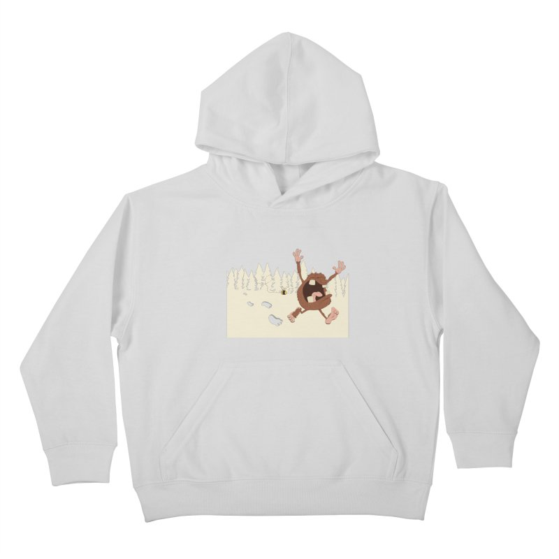 OMG a bee! Kids Pullover Hoody by Sketchbookery!
