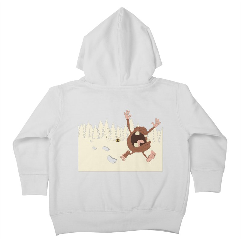OMG a bee! Kids Toddler Zip-Up Hoody by Sketchbookery!