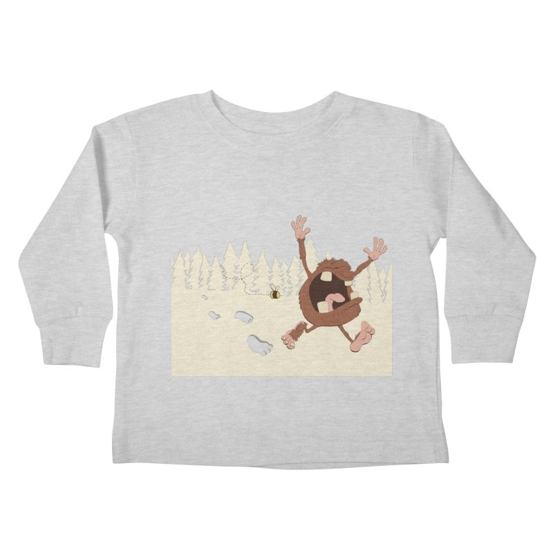 OMG a bee! Kids Toddler Longsleeve T-Shirt by Sketchbookery!