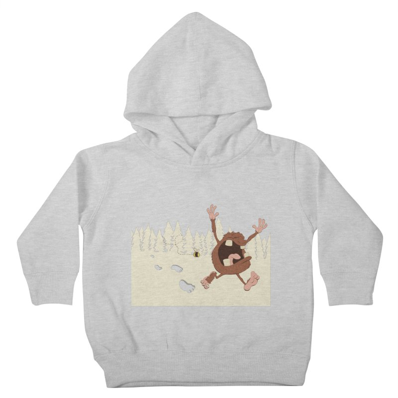 OMG a bee! Kids Toddler Pullover Hoody by Sketchbookery!