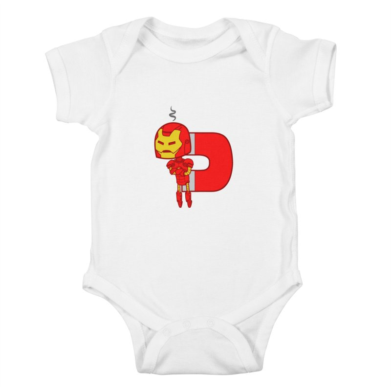 His only weakness Kids Baby Bodysuit by Sketchbookery!