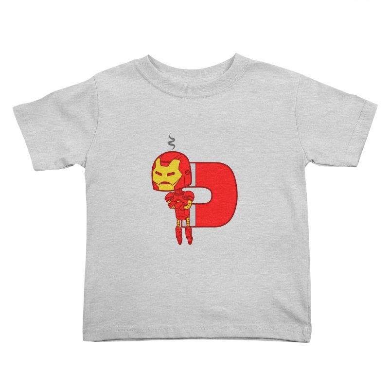 His only weakness Kids Toddler T-Shirt by Sketchbookery!