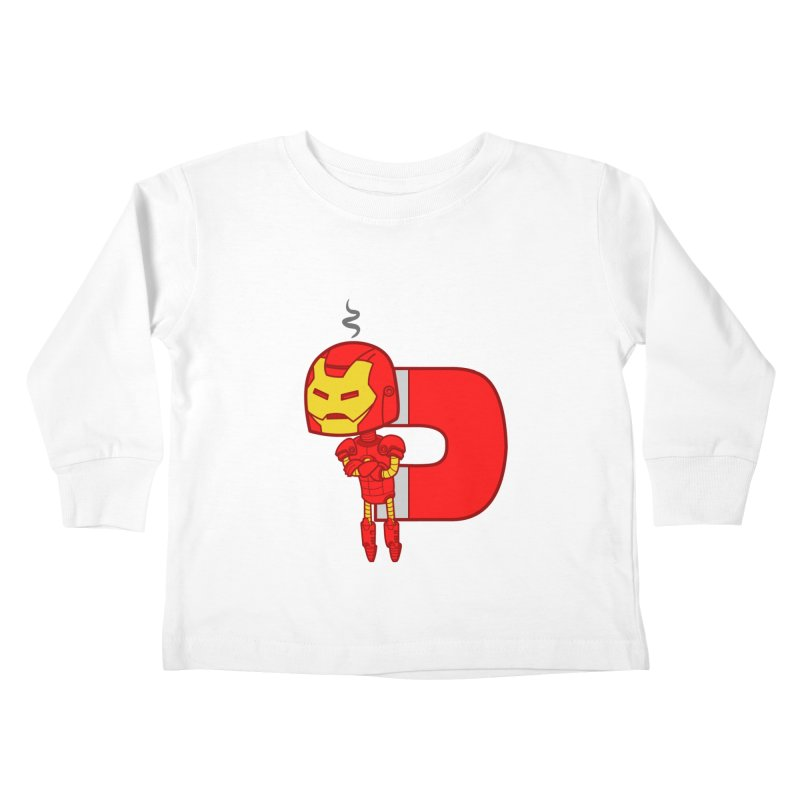 His only weakness Kids Toddler Longsleeve T-Shirt by Sketchbookery!