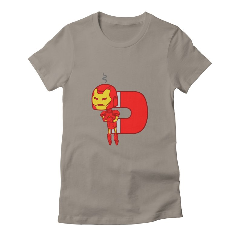 His only weakness Women's Fitted T-Shirt by Sketchbookery!