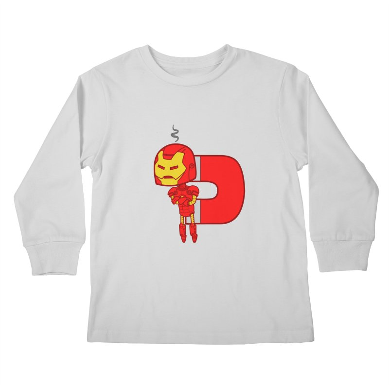 His only weakness Kids Longsleeve T-Shirt by Sketchbookery!