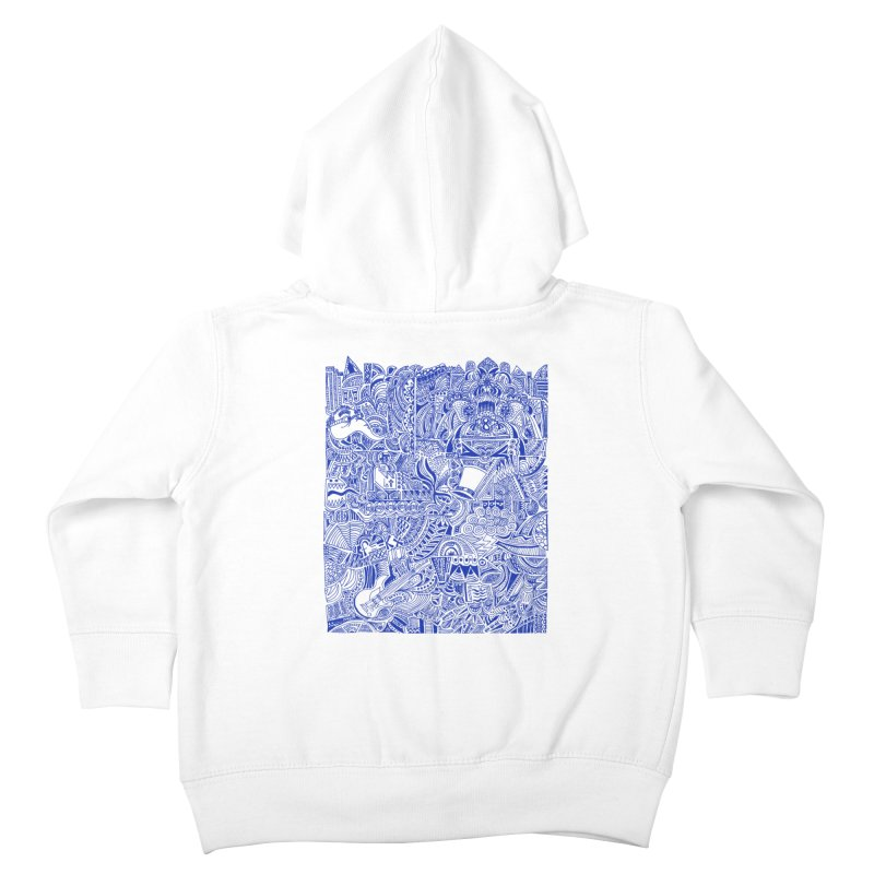 Highschool Math! Kids Toddler Zip-Up Hoody by Sketchbookery!