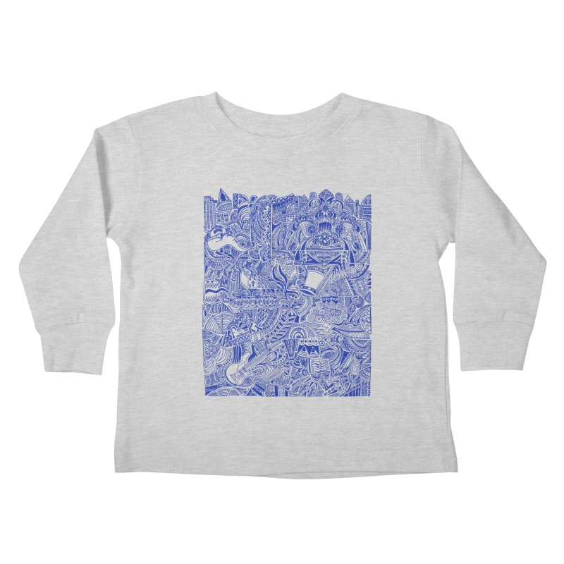 Highschool Math! Kids Toddler Longsleeve T-Shirt by Sketchbookery!