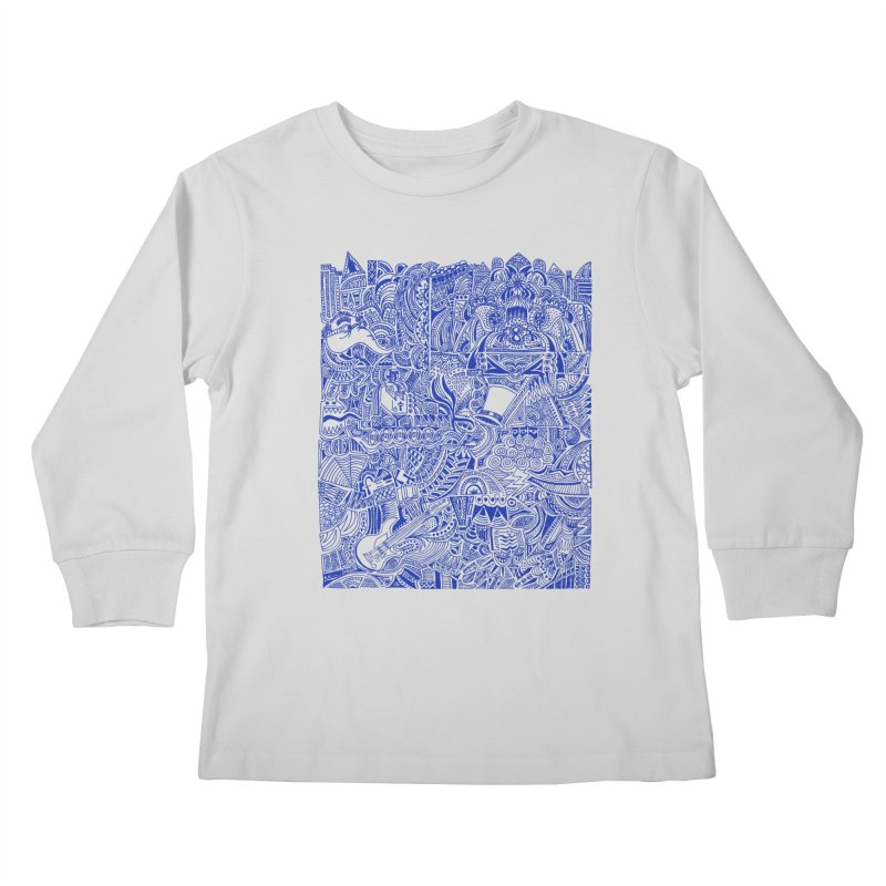 Highschool Math! Kids Longsleeve T-Shirt by Sketchbookery!
