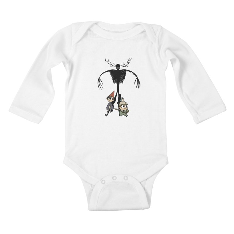 The Beast Kids Baby Longsleeve Bodysuit by Sketchbookery!