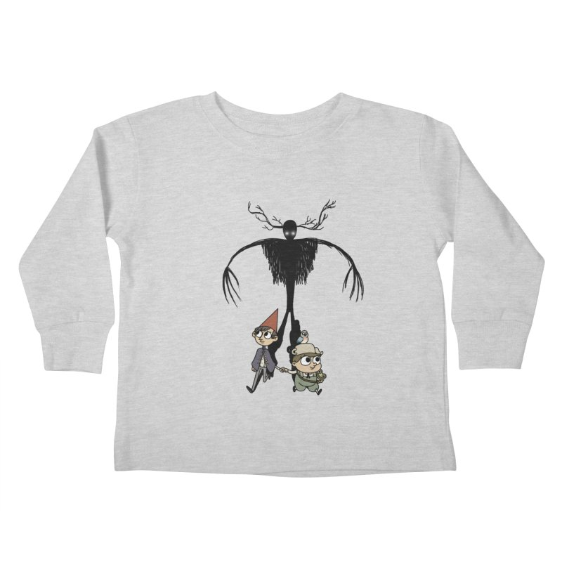 The Beast Kids Toddler Longsleeve T-Shirt by Sketchbookery!