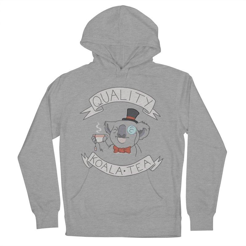 Quality Koala Tea Men's Pullover Hoody by Sketchbookery!