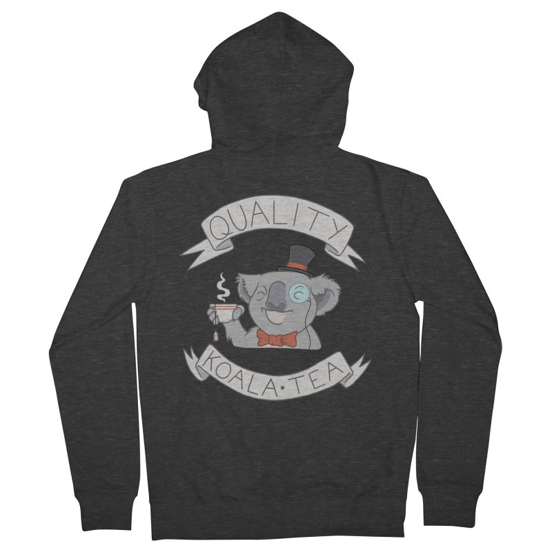 Quality Koala Tea Women's Zip-Up Hoody by Sketchbookery!