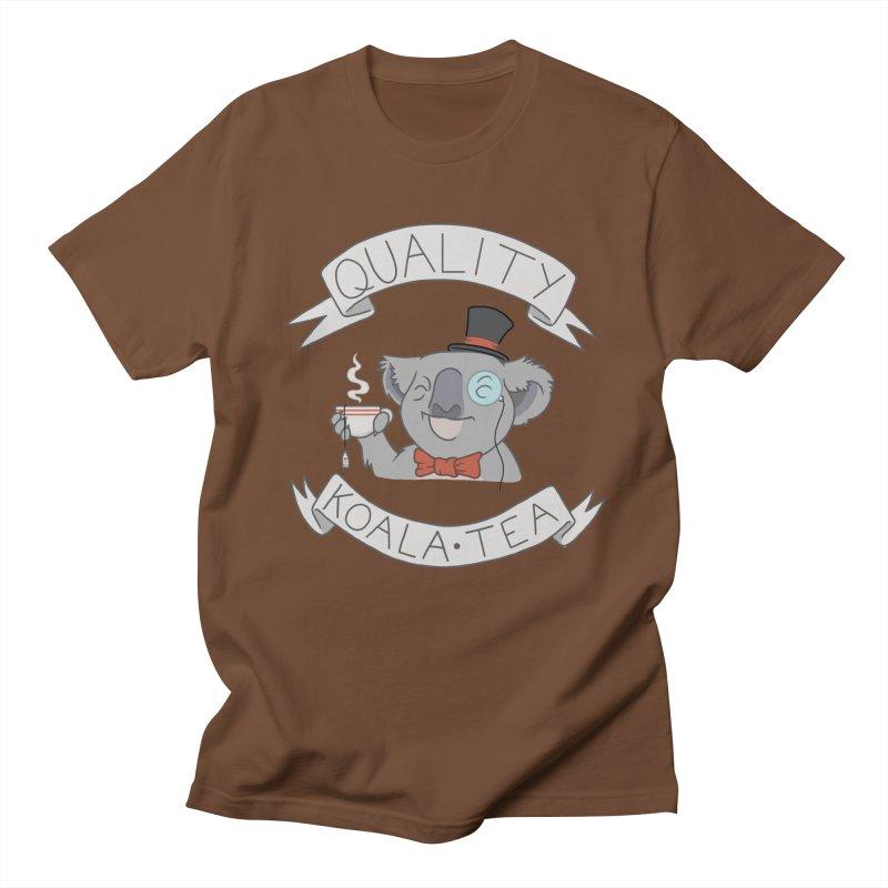 Quality Koala Tea Men's T-shirt by Sketchbookery!