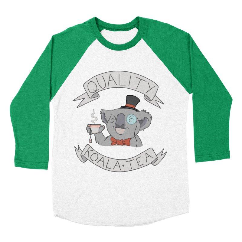 Quality Koala Tea Women's Baseball Triblend T-Shirt by Sketchbookery!