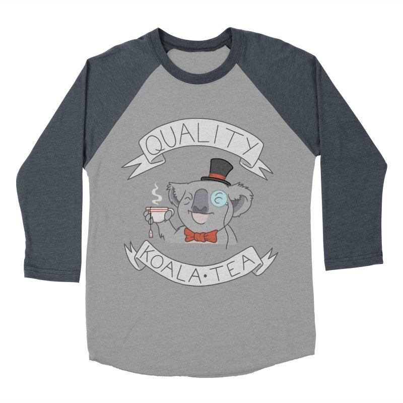 Quality Koala Tea Men's Baseball Triblend T-Shirt by Sketchbookery!