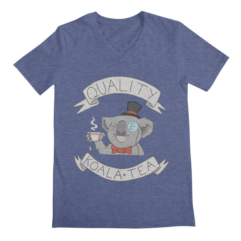 Quality Koala Tea Men's V-Neck by Sketchbookery!