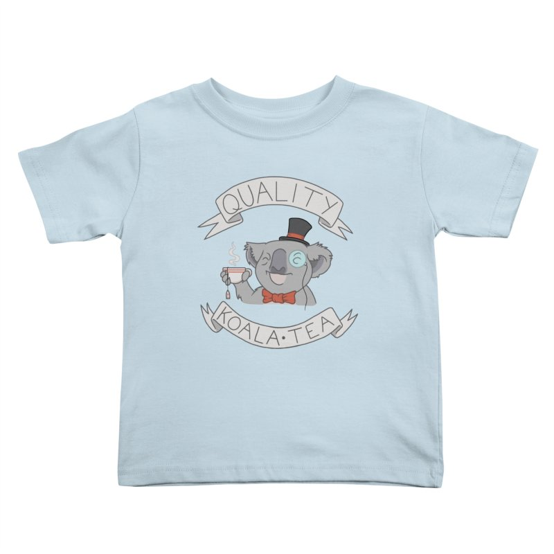 Quality Koala Tea Kids Toddler T-Shirt by Sketchbookery!