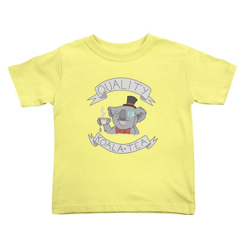 Quality Koala Tea Kids Toddler T-Shirt by Sketchbookery!