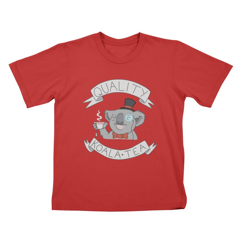 Quality Koala Tea Kids T-Shirt by Sketchbookery!