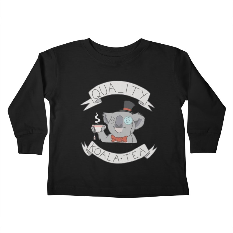 Quality Koala Tea Kids Toddler Longsleeve T-Shirt by Sketchbookery!
