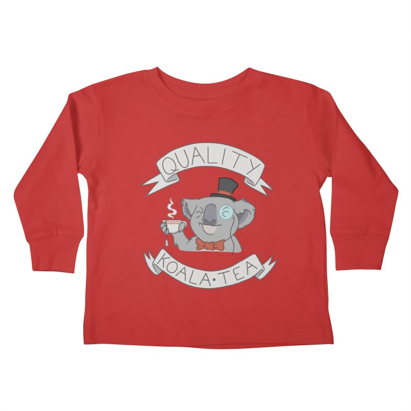 Quality Koala Tea Kids Toddler Longsleeve T-Shirt by Sketchbookery!