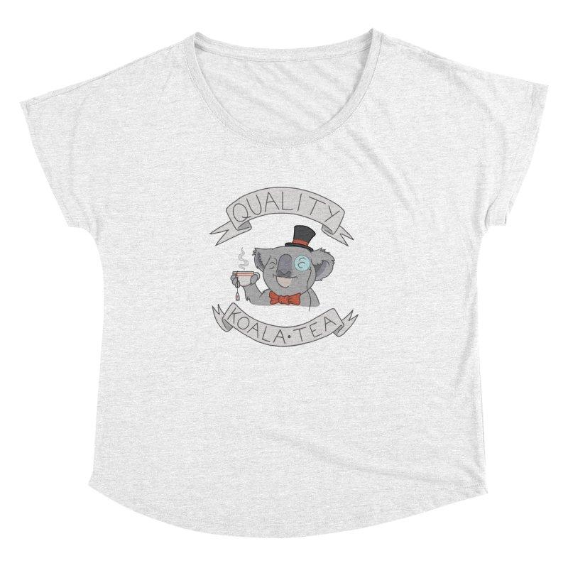 Quality Koala Tea Women's Dolman by Sketchbookery!