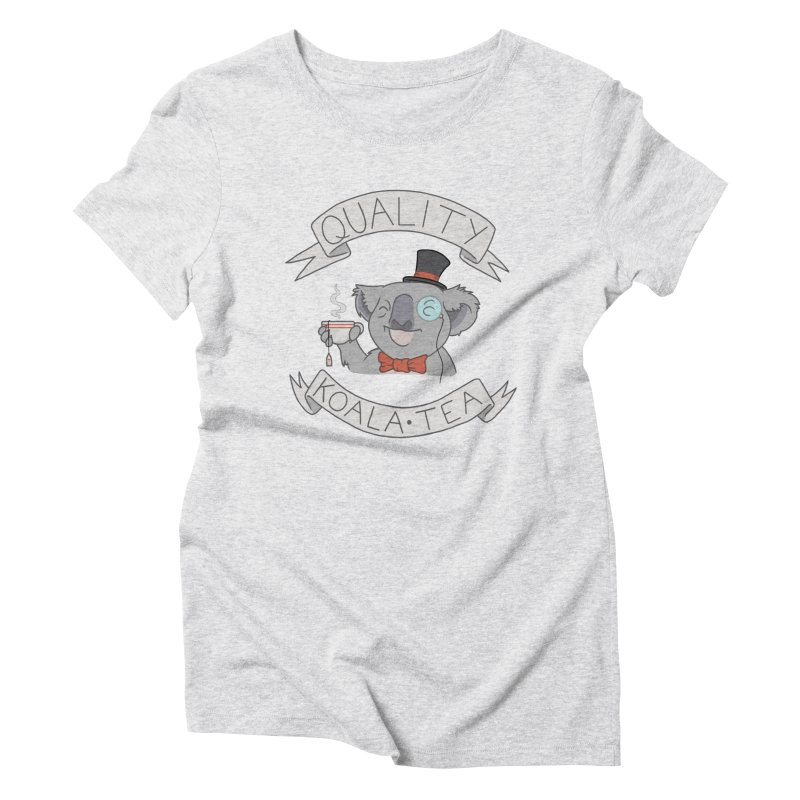 Quality Koala Tea Women's Triblend T-Shirt by Sketchbookery!