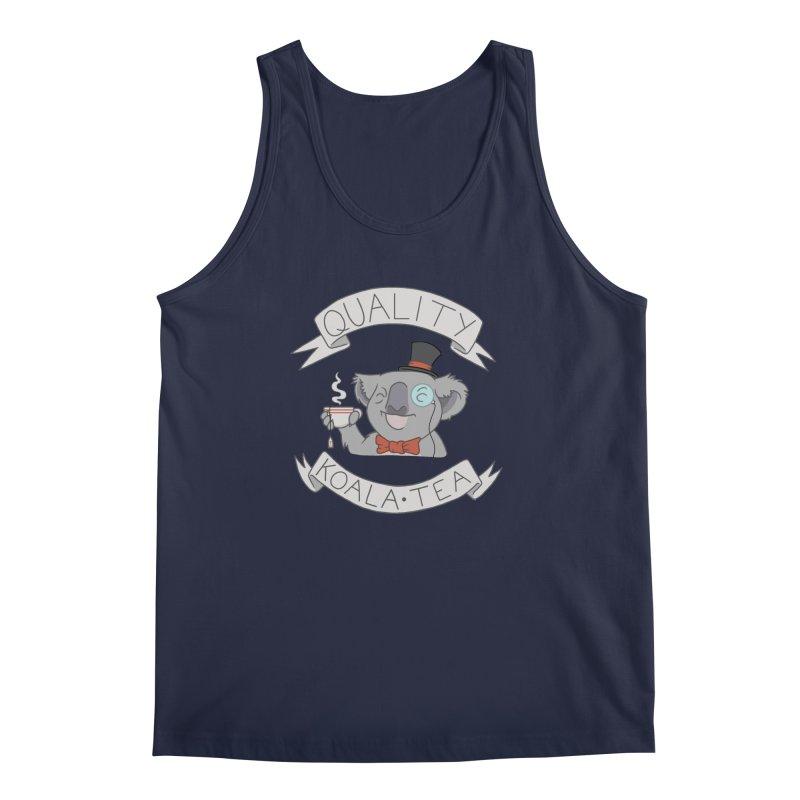 Quality Koala Tea Men's Tank by Sketchbookery!