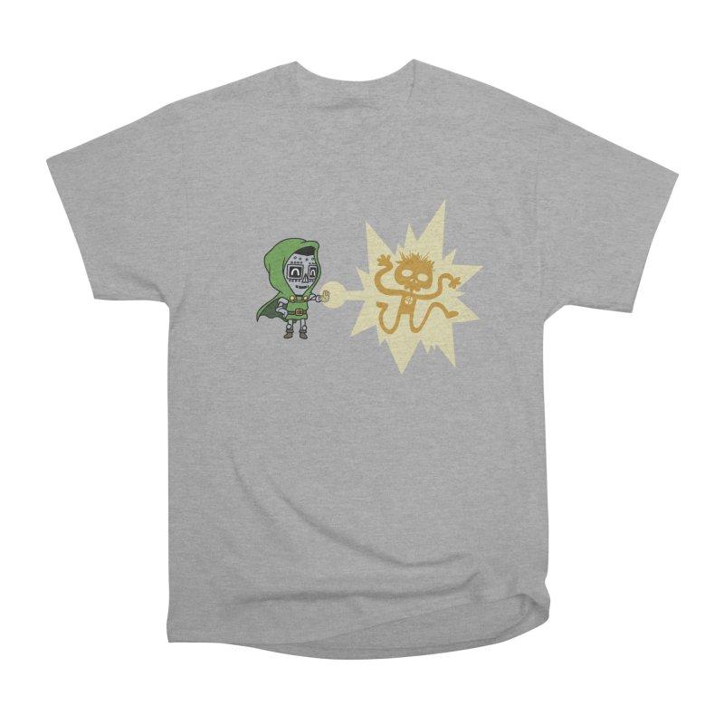 Dr Doom, P.H.D. Men's Heavyweight T-Shirt by Sketchbookery!