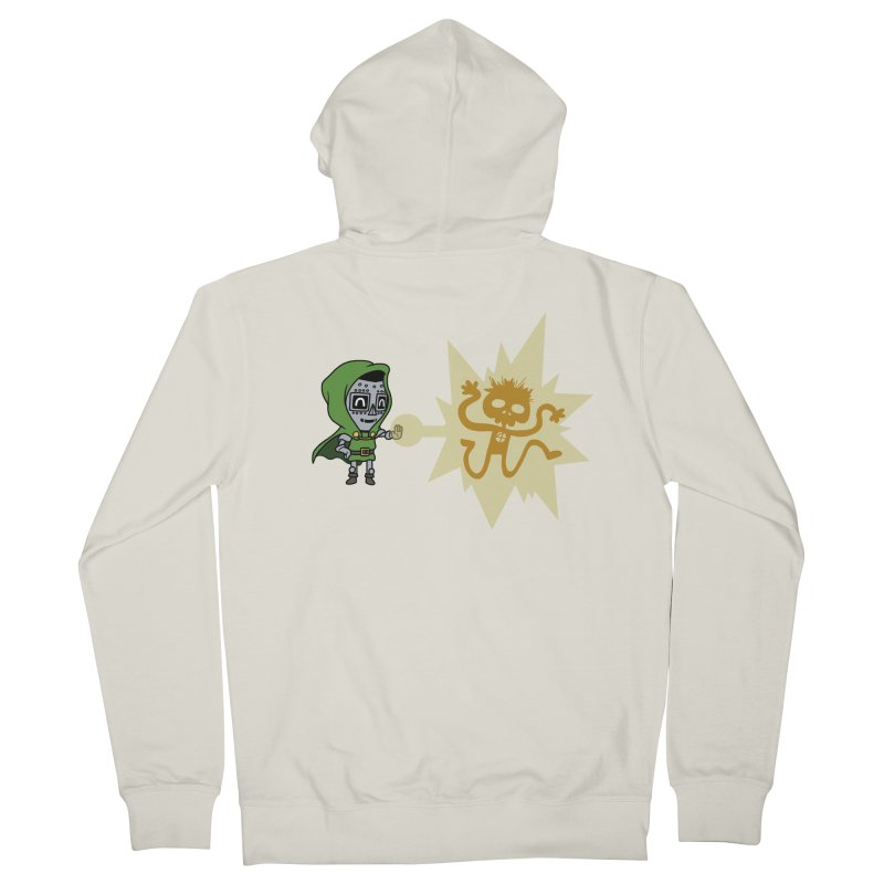Dr Doom, P.H.D. Women's Zip-Up Hoody by Sketchbookery!