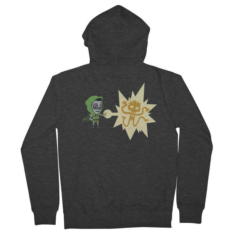 Dr Doom, P.H.D. Men's Zip-Up Hoody by Sketchbookery!