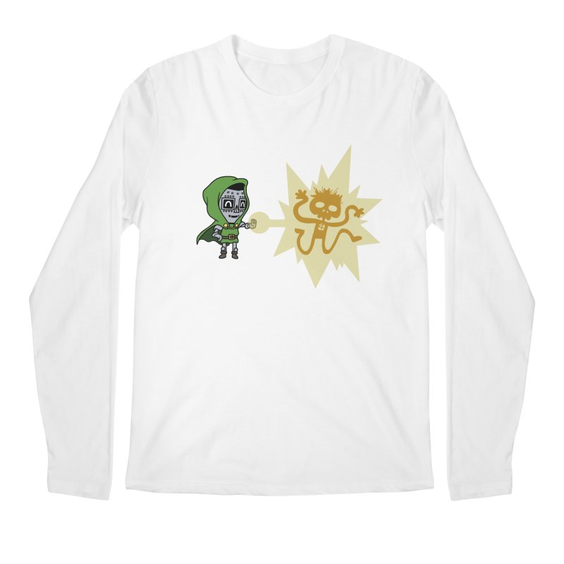 Dr Doom, P.H.D. Men's Longsleeve T-Shirt by Sketchbookery!