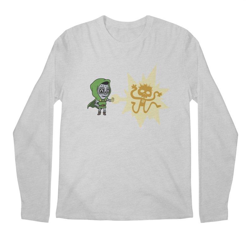 Dr Doom, P.H.D. Men's Longsleeve T-Shirt by Sketchbookery!