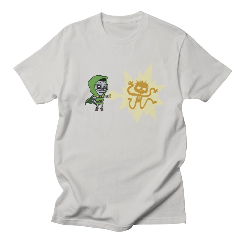 Dr Doom, P.H.D. Men's T-shirt by Sketchbookery!