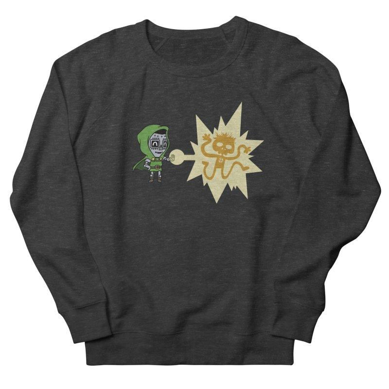 Dr Doom, P.H.D. Men's Sweatshirt by Sketchbookery!