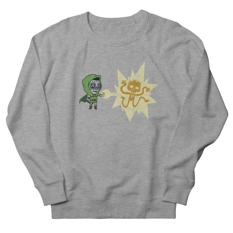 Dr Doom, P.H.D. Men's Sweatshirt by Sketchbookery!