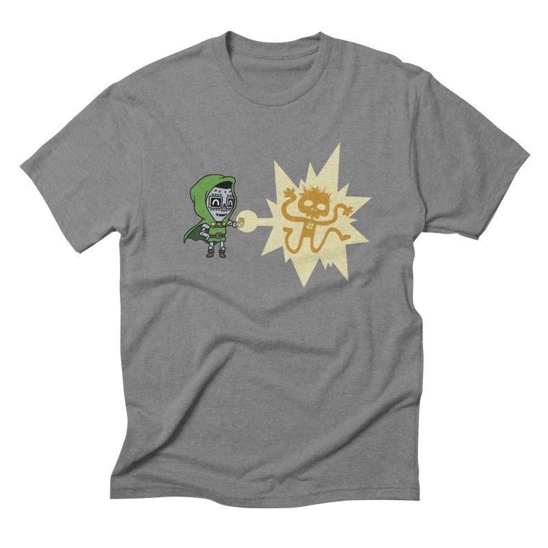 Dr Doom, P.H.D. Men's Triblend T-shirt by Sketchbookery!