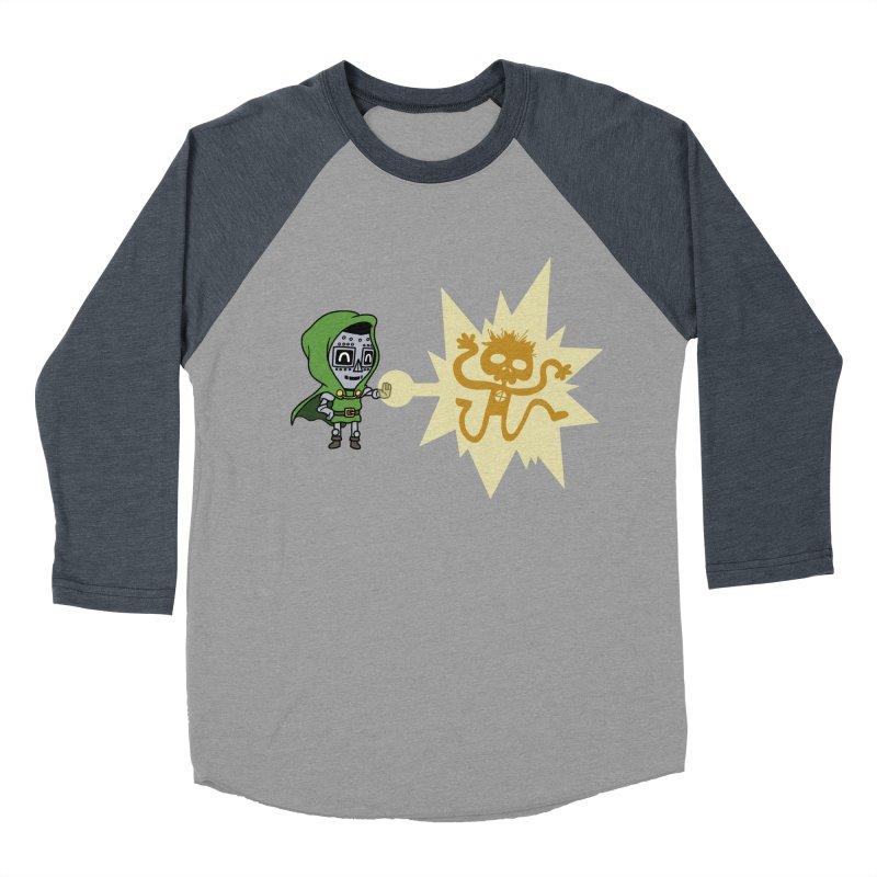 Dr Doom, P.H.D. Women's Baseball Triblend T-Shirt by Sketchbookery!