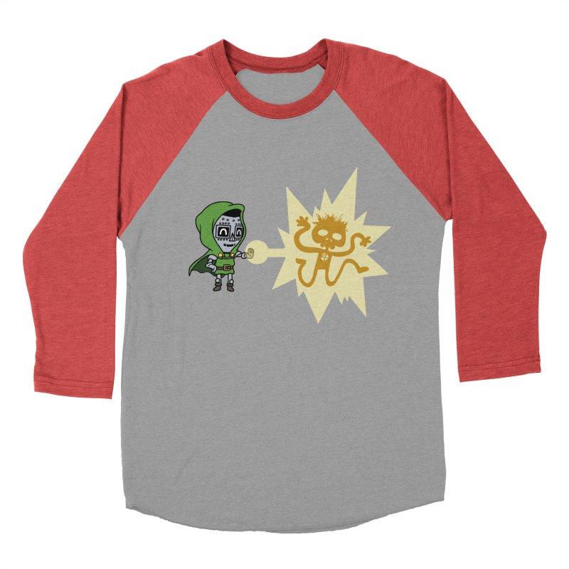 Dr Doom, P.H.D. Men's Baseball Triblend T-Shirt by Sketchbookery!