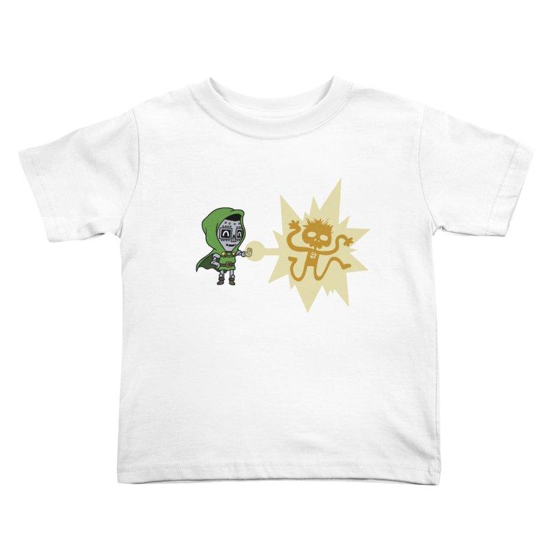 Dr Doom, P.H.D. Kids Toddler T-Shirt by Sketchbookery!