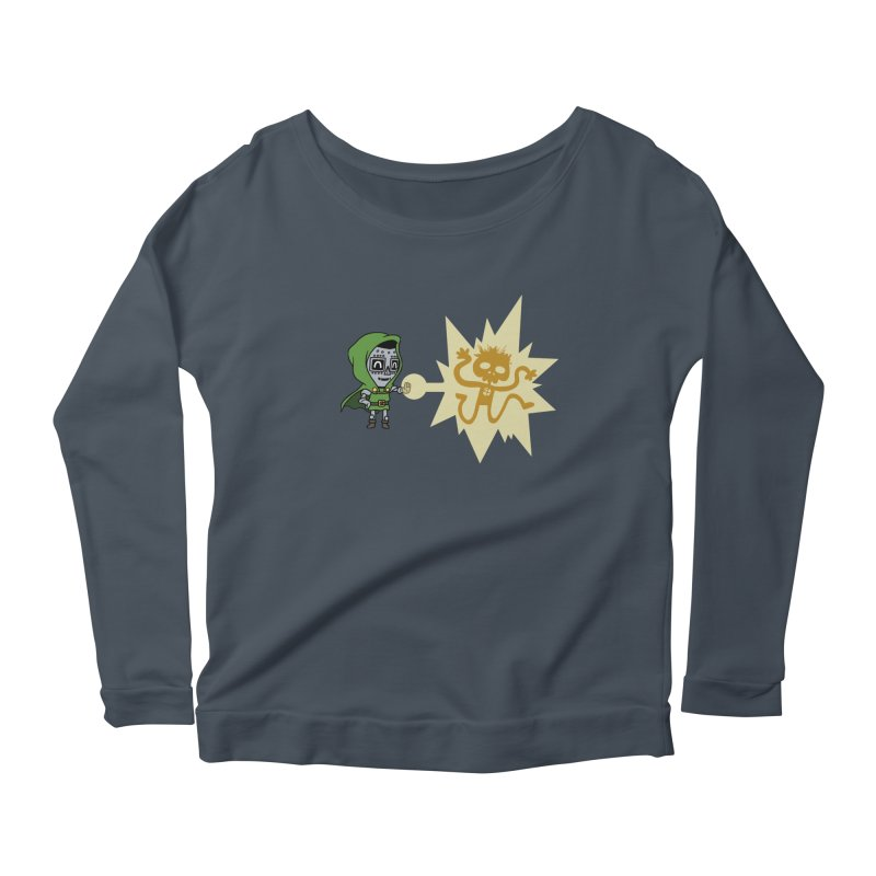 Dr Doom, P.H.D. Women's Longsleeve Scoopneck  by Sketchbookery!